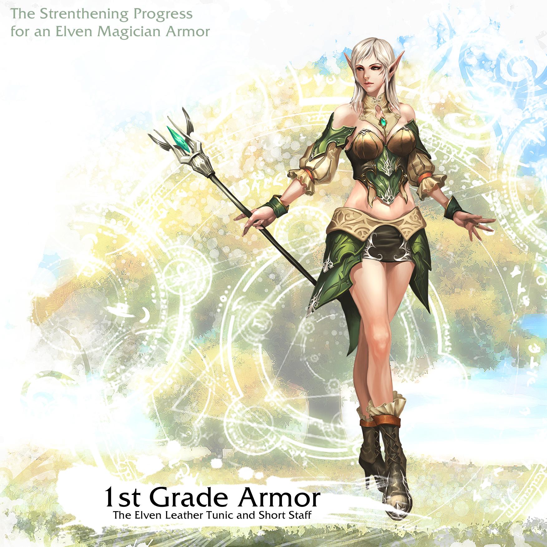 Elven Magician Armor 1st Grade
