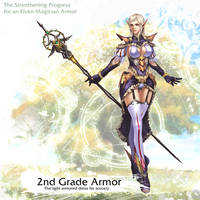 Elven Magician Armor 2nd Grade by reaper78