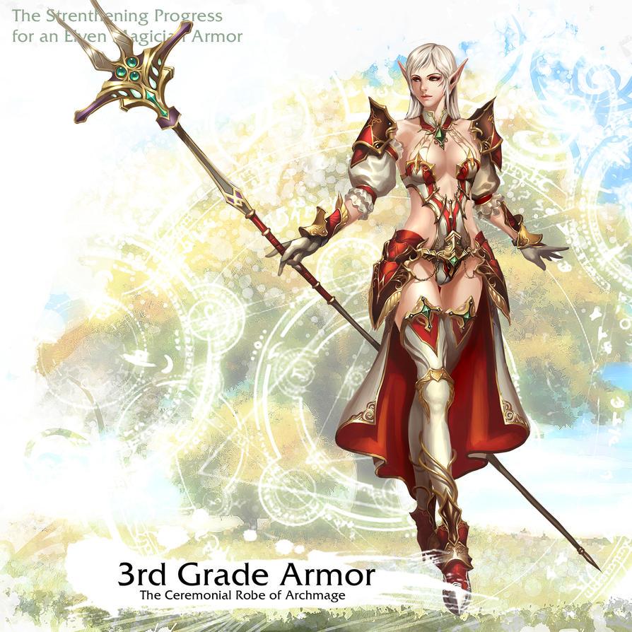 Elven Magician Armor 3rd Grade by reaper78