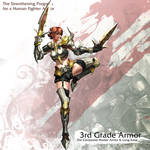 Human Female Fighter 3rd Armor
