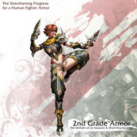 Human Female Fighter 2nd Armor by reaper78