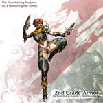Human Female Fighter 2nd Armor