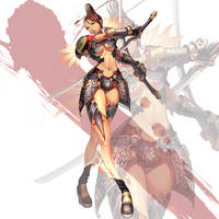 blade and soul style - 002 by reaper78