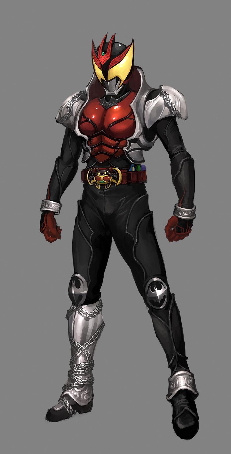 Rough - Kamen Rider Kiva by reaper78