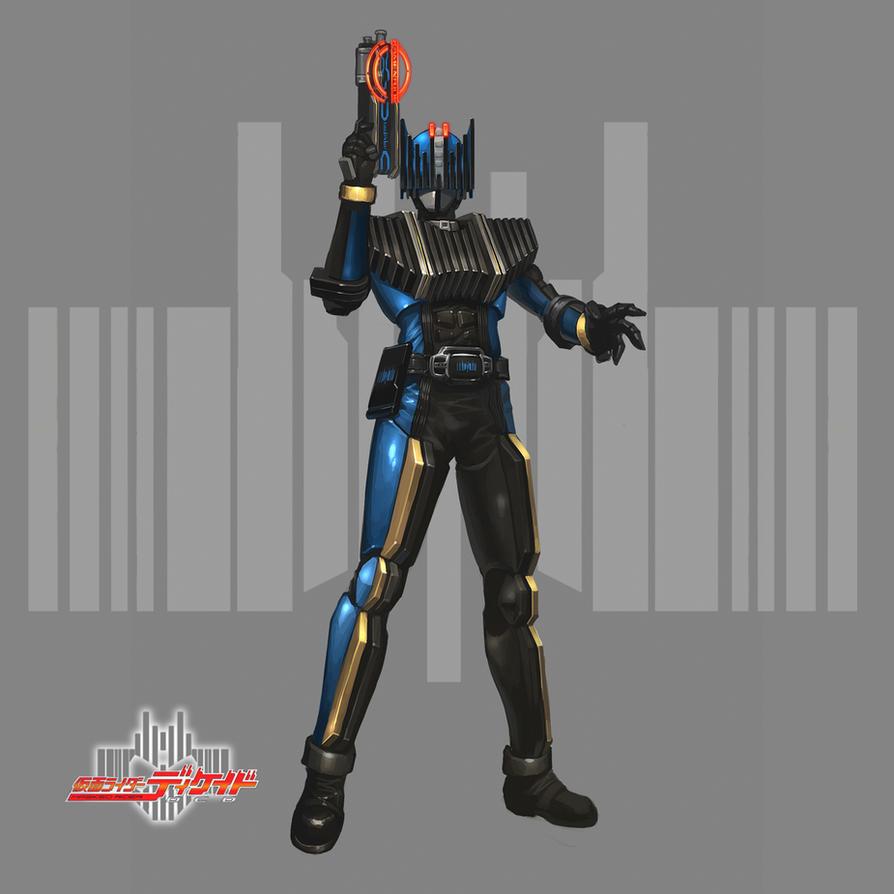 Kamen Rider Diend by reaper78