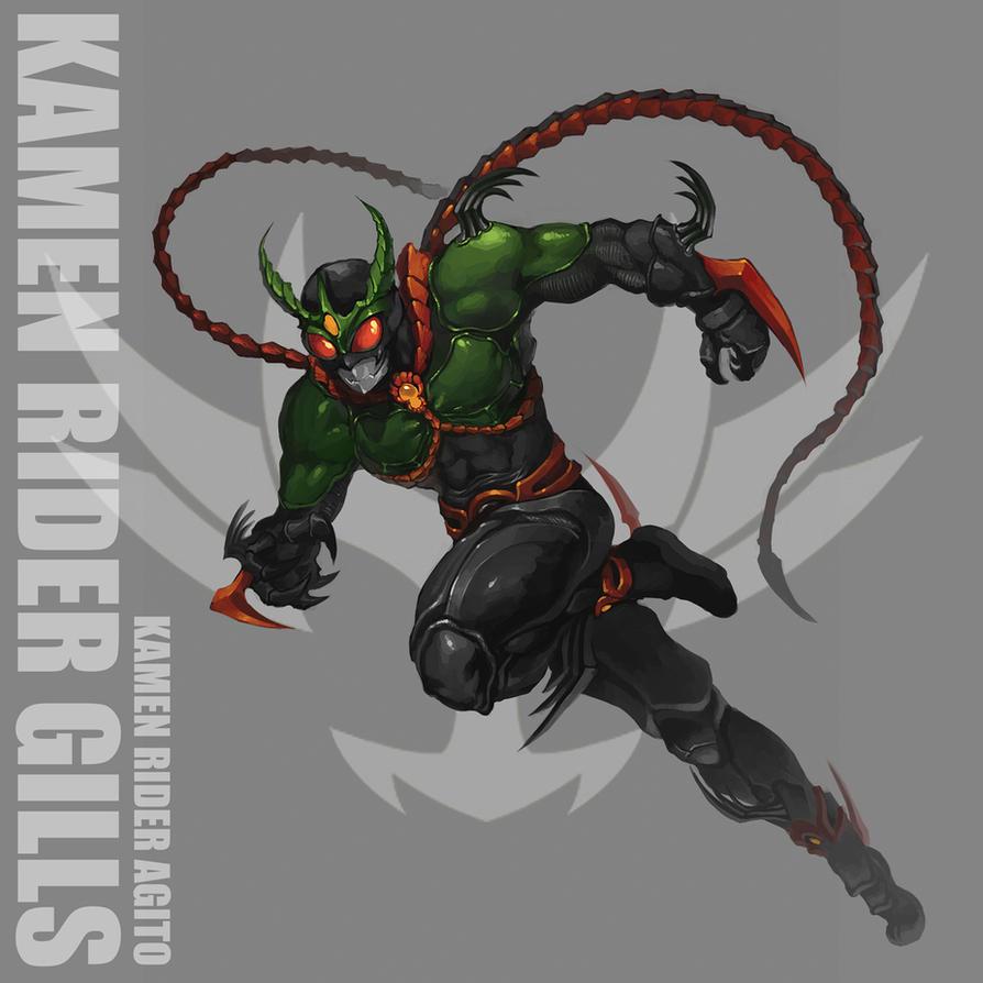 Kamen Rider Gills by reaper78