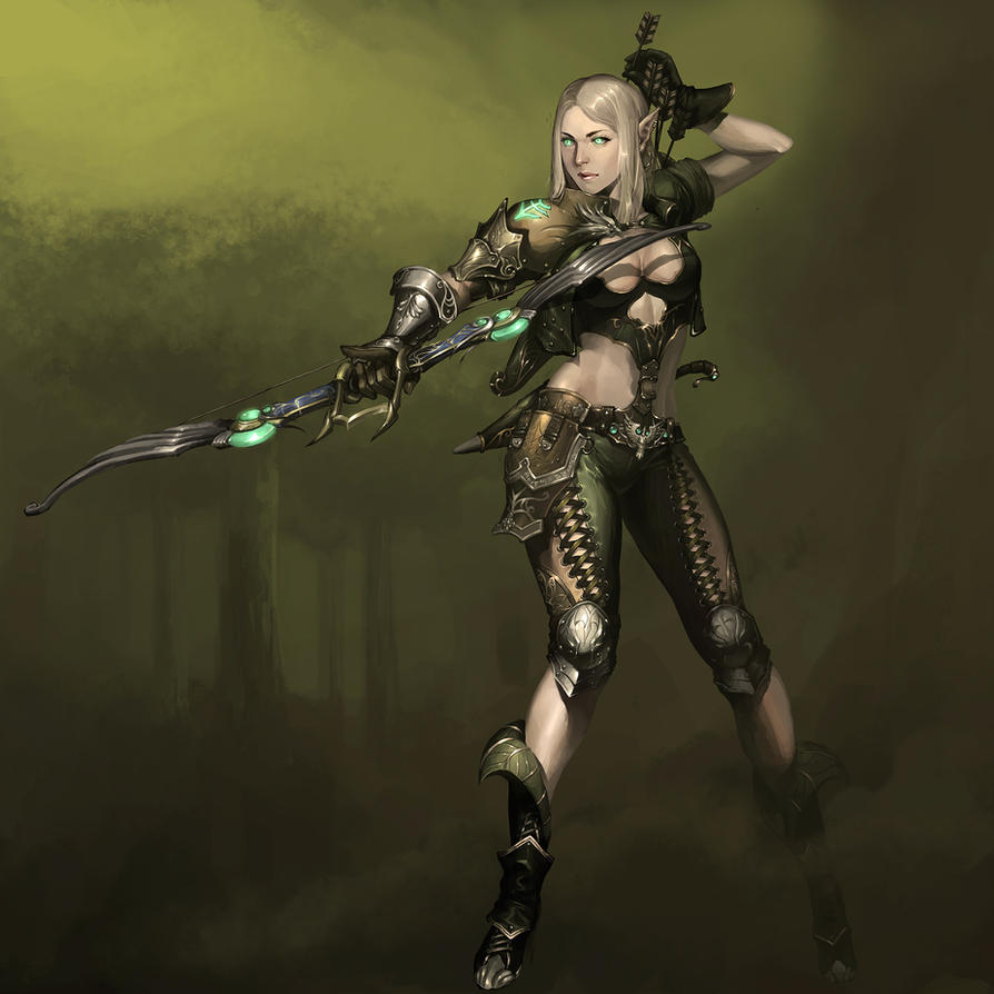 Elven Archer by reaper78