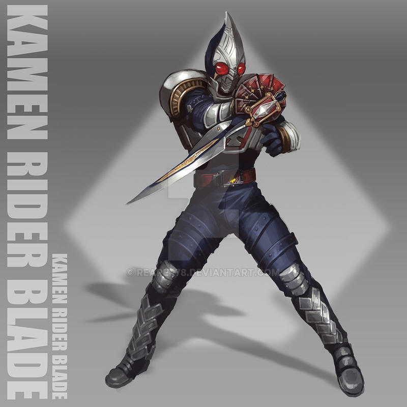 Kamen Rider Blade by reaper78