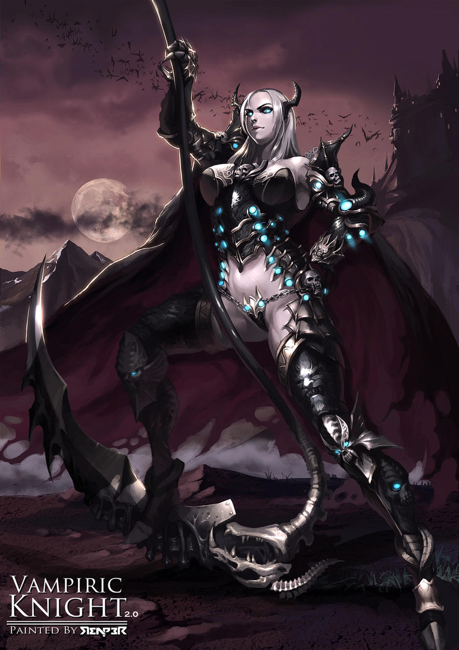 The Female Vampiric Knight 2.0