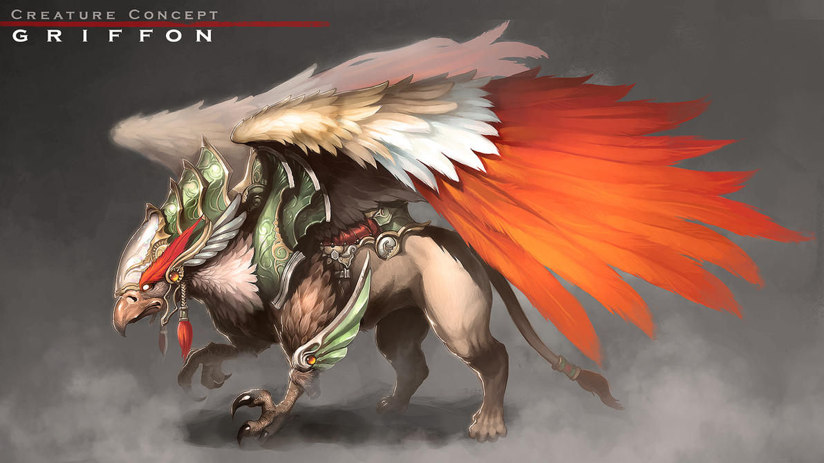 Creature : Griffon by reaper78