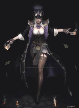 Steampunk Female Thief