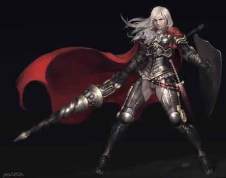 Steampunk Female Lancer