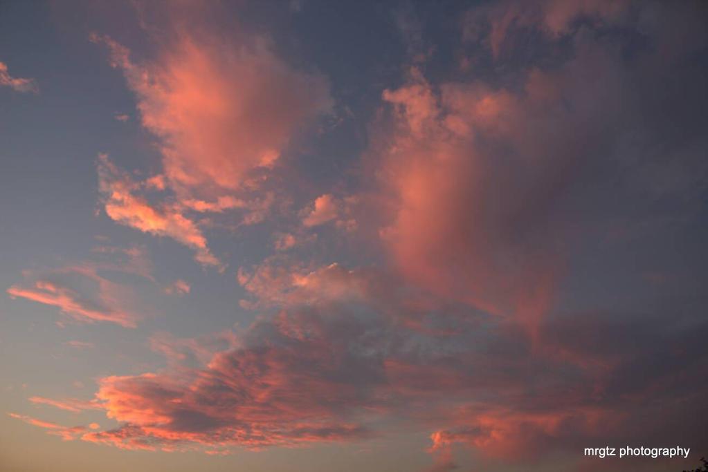 pink clouds by MrGutierrez