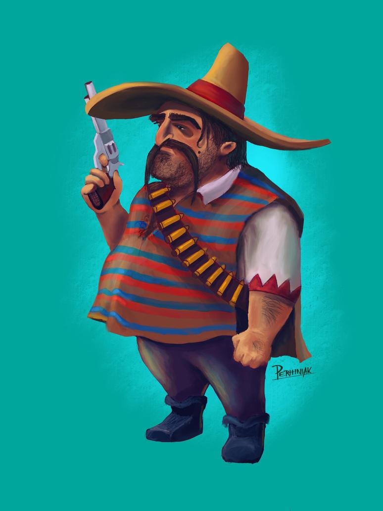 Mexican bandit by perhiniak