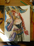 Captain Fortune Watercolour