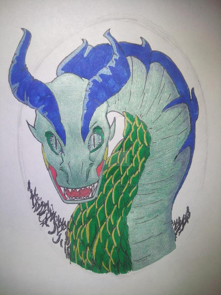 Traditional Dragon by JakeDogeTheDog
