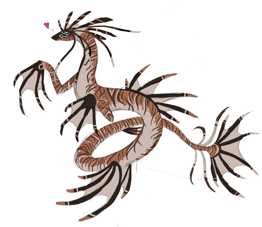 Lionfish Sea Dragon by Arquerite