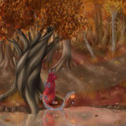 Autumn by Arquerite