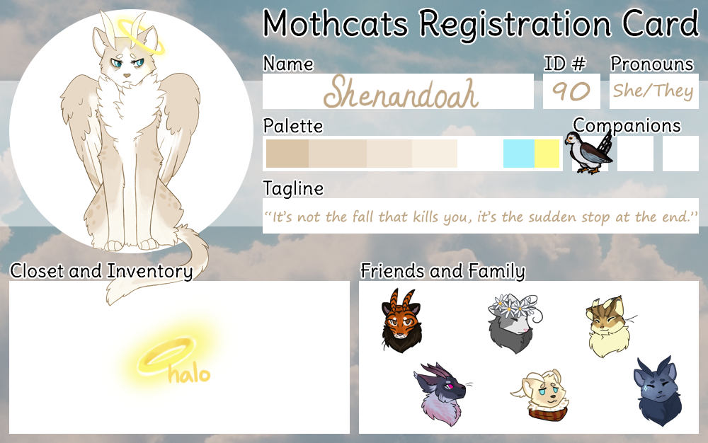 Shenandoah Mothcat ID by Arquerite
