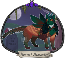 Halloween Advent Day 14 - Harvest Pheasant by Arquerite