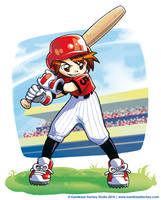 Bateador de Kodomo manga by Chiisa