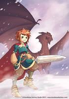 Guerrero para Kodomo manga by Chiisa