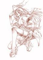 Cartel salon manga granada'10 by Chiisa