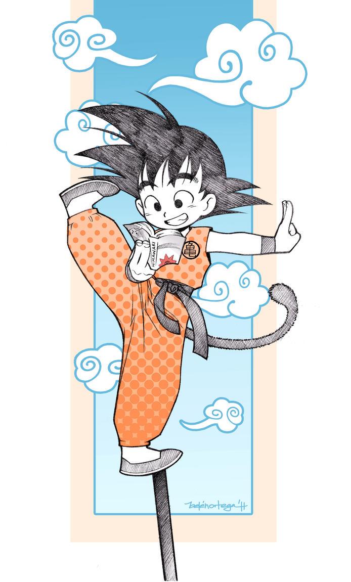 Chibi Goku by Chiisa