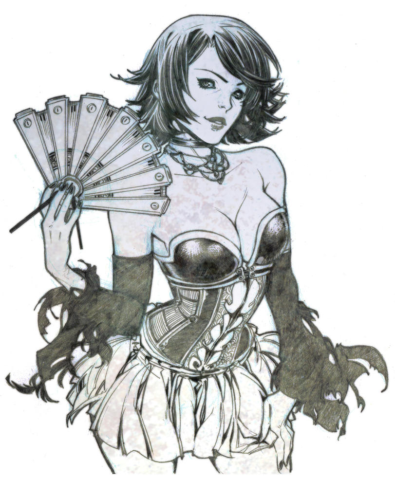 Character design by Chiisa