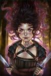 ~Un reino a espada~ COVER BOOK Illustration