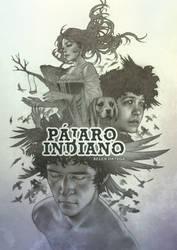 PAJARO INDIANO Cover Book Illustration