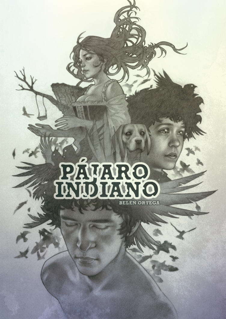 Comic Aun Book Cover Illustration Ver ~ Pajaro indiano cover book illustration by chiisa on deviantart