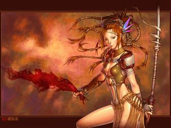 Anima warrior by Chiisa