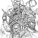 Lucius the Eternal | Warhammer 40k sketch
