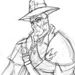 Victor Saltzpyre Warhammer fast sketch