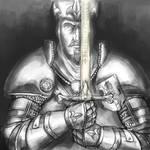 Louen Leoncoeur, the Lionhearted |Warhammer sketch