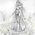 The Everqueen | Warhammer fantasy sketch