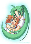 Rena and Mion