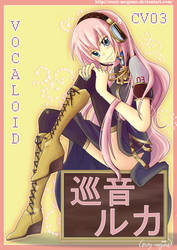 Vocaloid-Megurine Luka by Crazy-megame