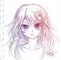 Oc Sketch by Crazy-megame