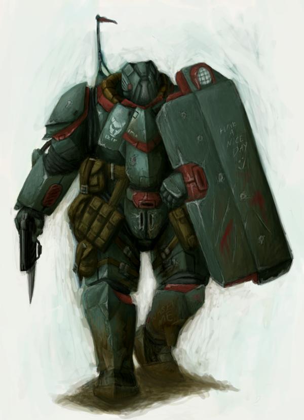 Samson Armour Concept by MattNB