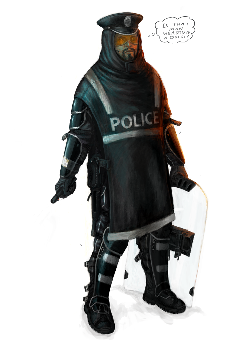 Future Cop Concept by MattNB on DeviantArt