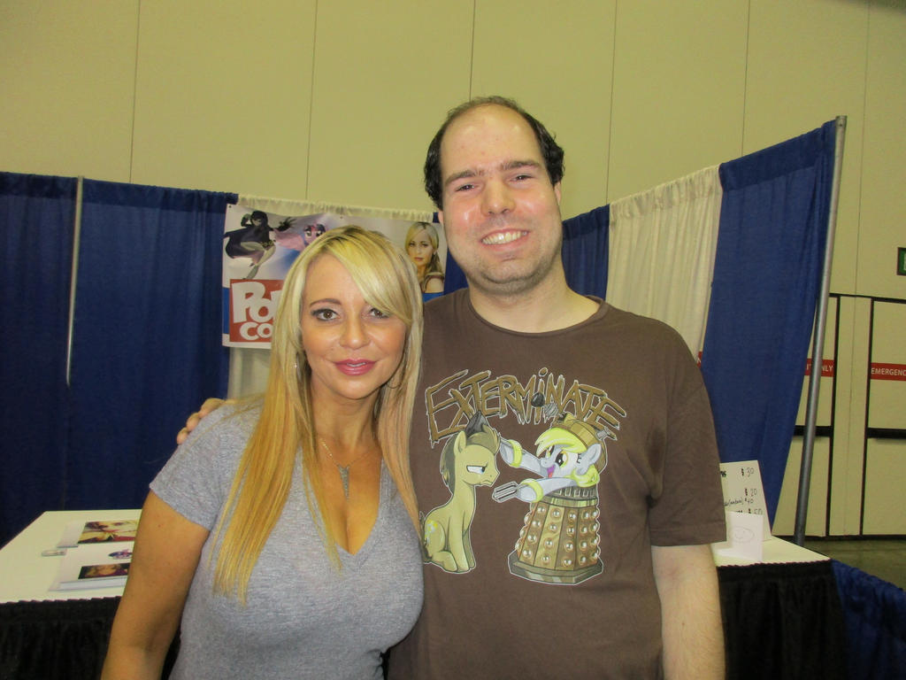 Indy Pop Con - Me and Tara Strong