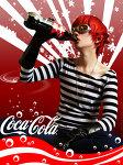 The new coca-cola model by Plush-Mello