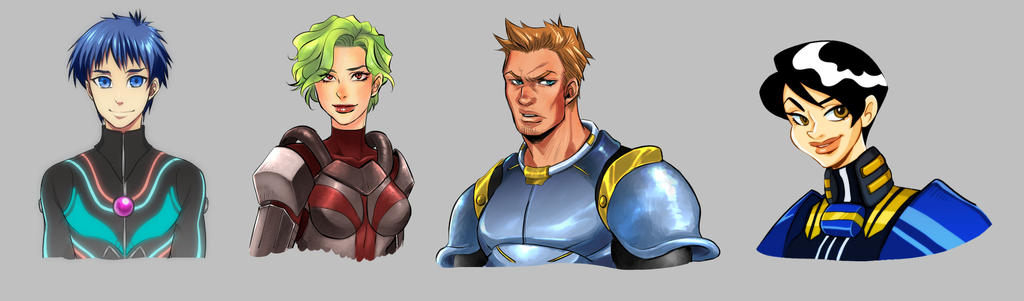 Space Pilot Character Study
