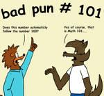 Bad Pun 101 by ditistomzelf