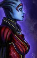 Mass Effect Samara by Exquerelin