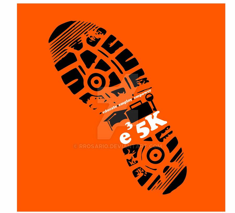 e3 5K Logo by RRosario