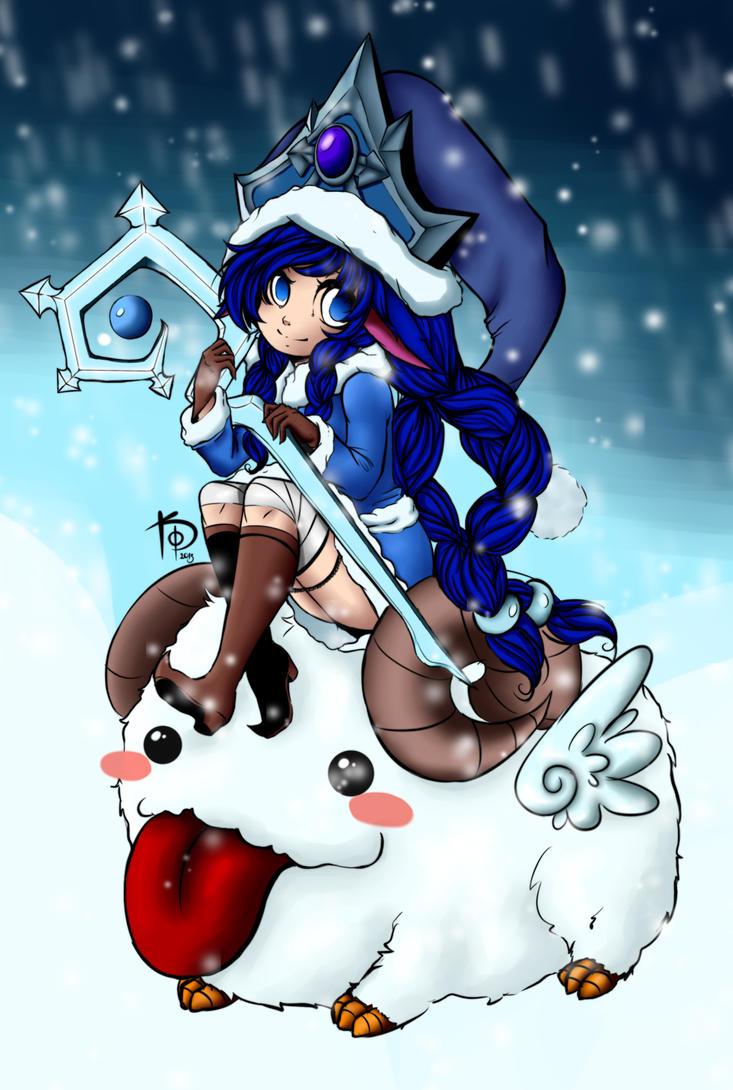 Winter Wonder Lulu Staff images