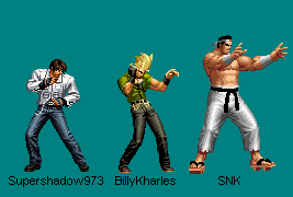 Japan Team 2D - KOF XIV by BillyKharles
